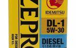 Масло idemitsu zepro diesel dl-1 5w30: характеристики, отзывы
