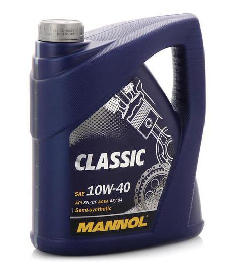 Краткий обзор mannol classic 10w 40